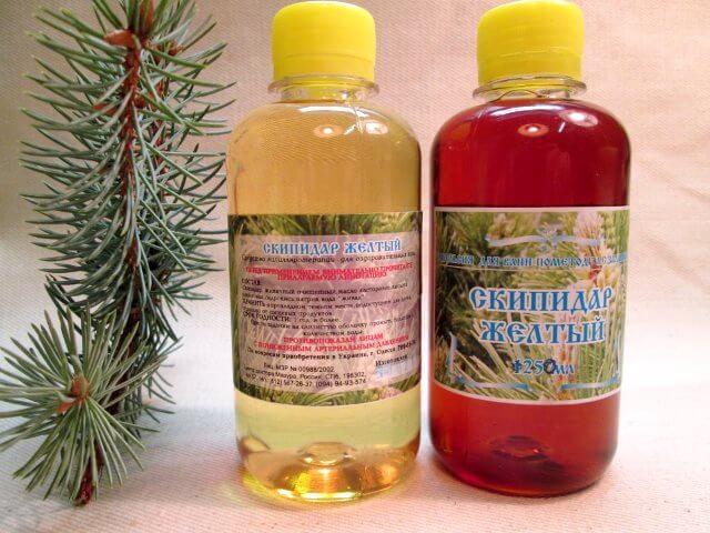 Skipidar fürdők prosztatitis)