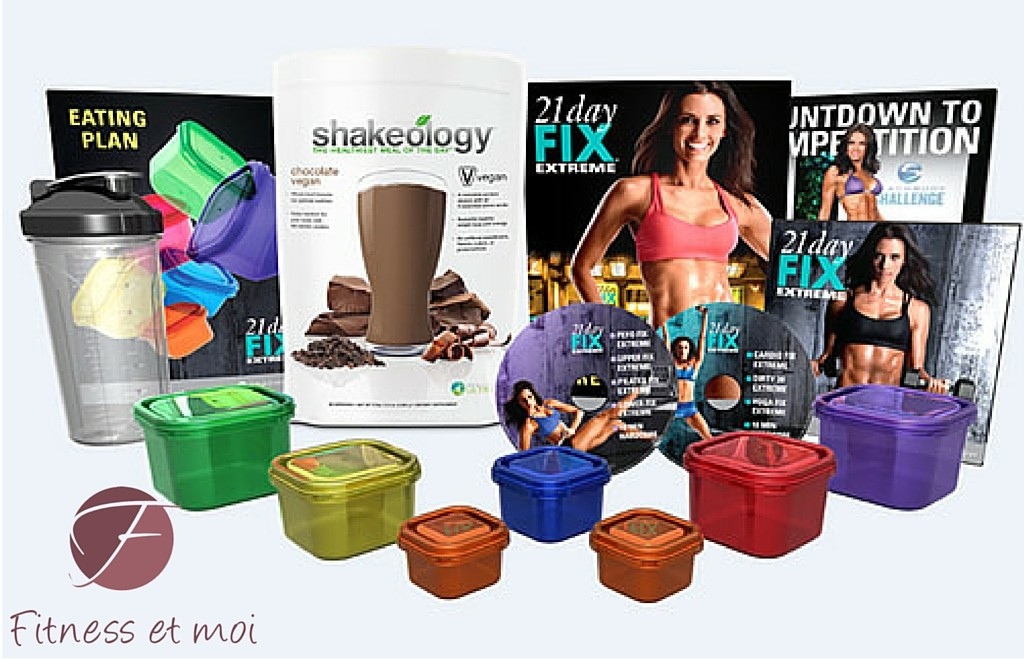 21 Day Fix Extreme en Challenge Pack