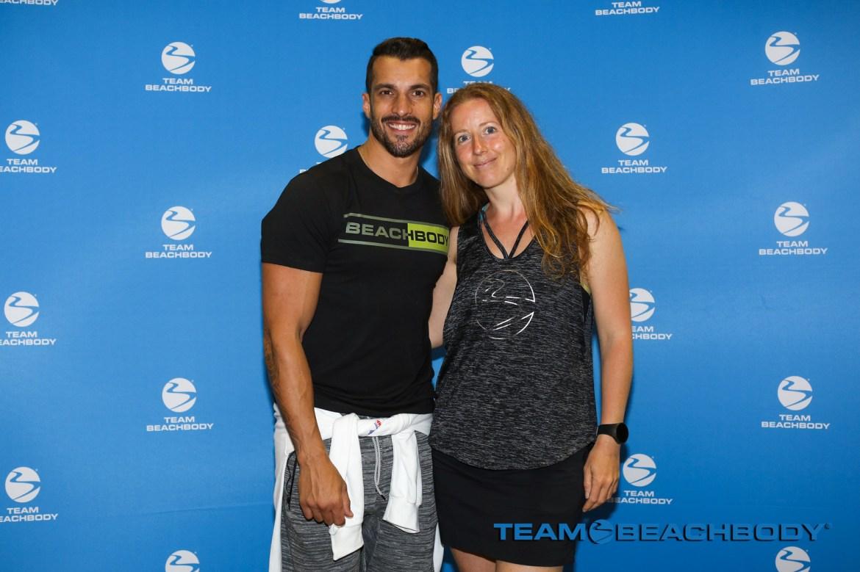 Joel Freeman et Chantal Lavigne Fitness et moi