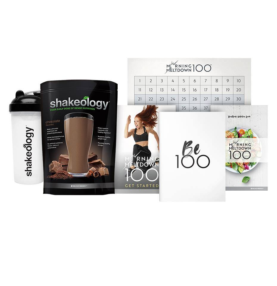 Pack complémentaire Shakeology Morning Meltdown 100
