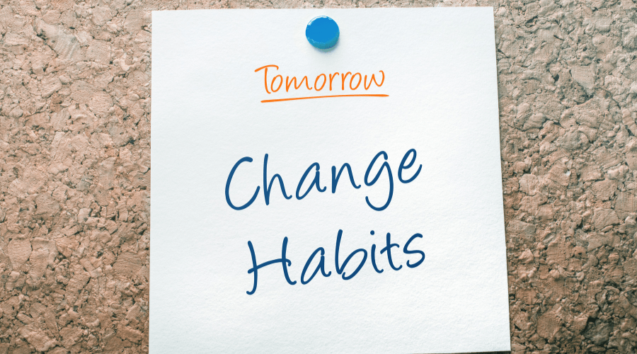 5 steps to lasting habit change