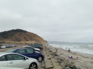 View from Torrey Pines Parking Lot