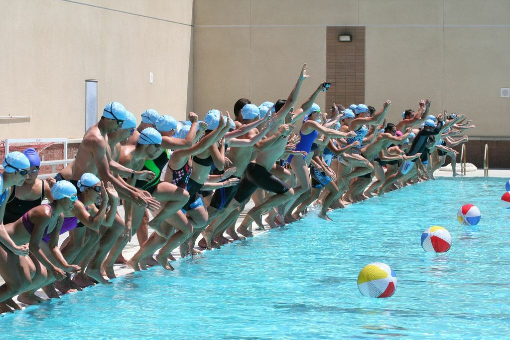 endurance camp swim 2