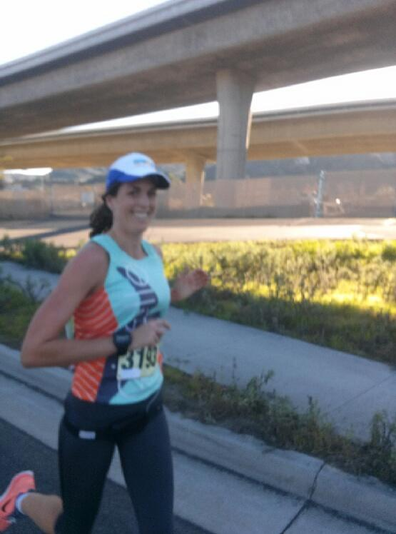 Feeling good toward the finish!