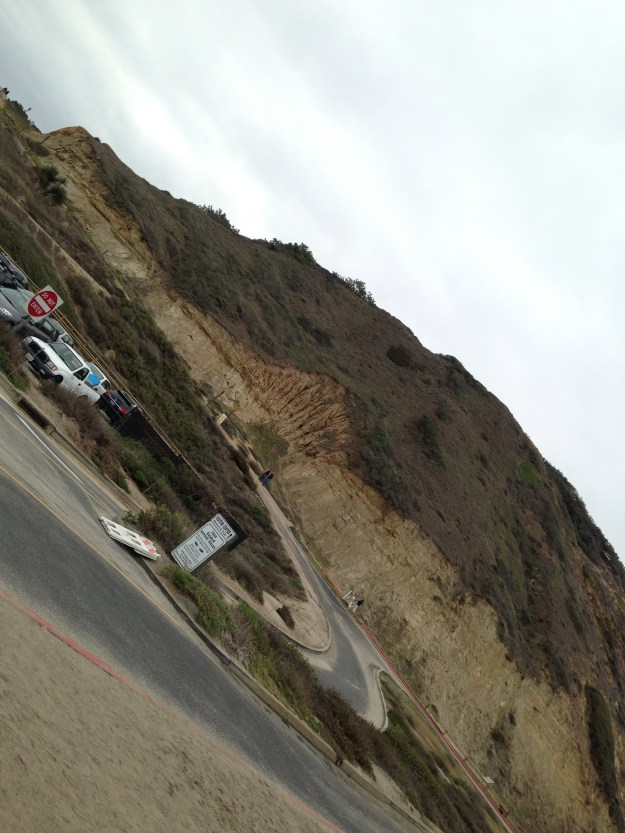Just the first 1/4 mile of Torrey Pines - doesn't really capture the full hill