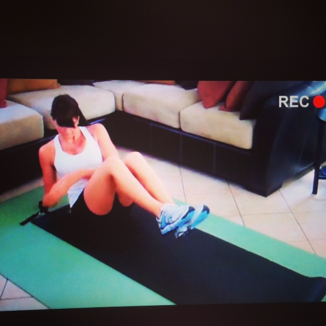 "Doing Ab Ripper in the P90X3 ""How to Accelerate DVD"""