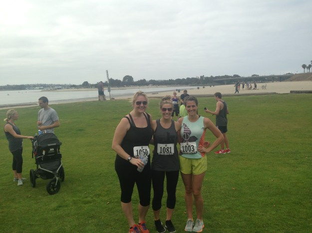 Post Race With Friends!