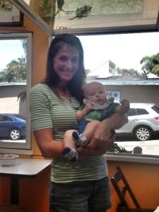 Me & Baby Camden!