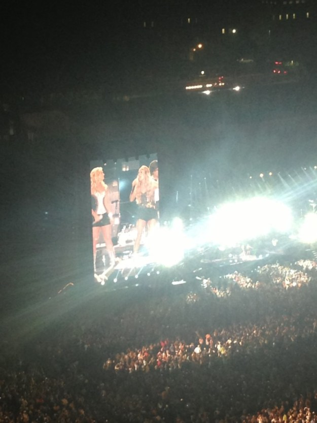 Miranda Lambert got Carrie Underwood on stage for their new duet!