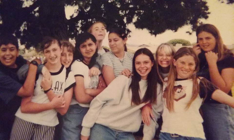 Someone posted this photo from my junior high years recently - brought back memories (I'm in the back, right)
