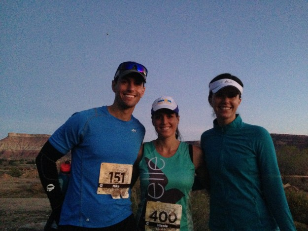 Pre-Race photo with Mike and Claire