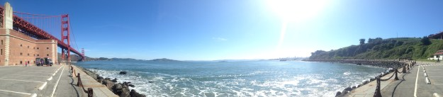 View from my 10k run in San Francisco