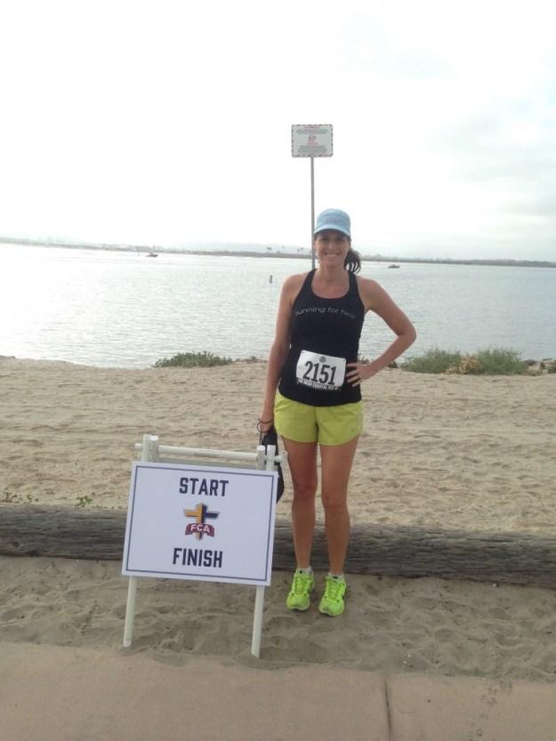 half marathon while pregnant