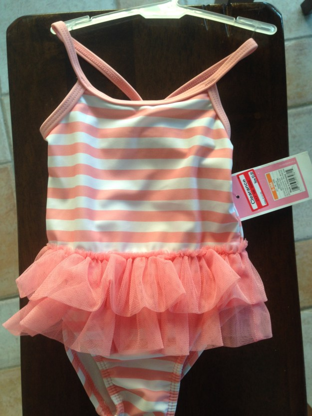 Couldn't resist this adorable bathing suit for Siena - so excited to have a girl!!!