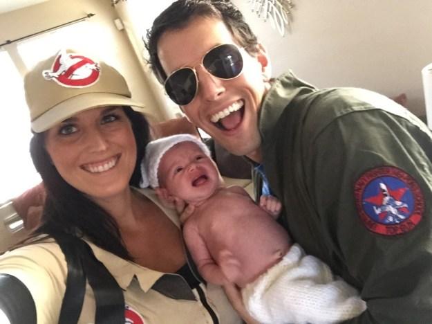 Halloween Family Selfie!