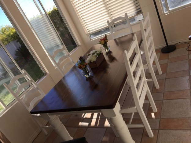Our new kitchen table!
