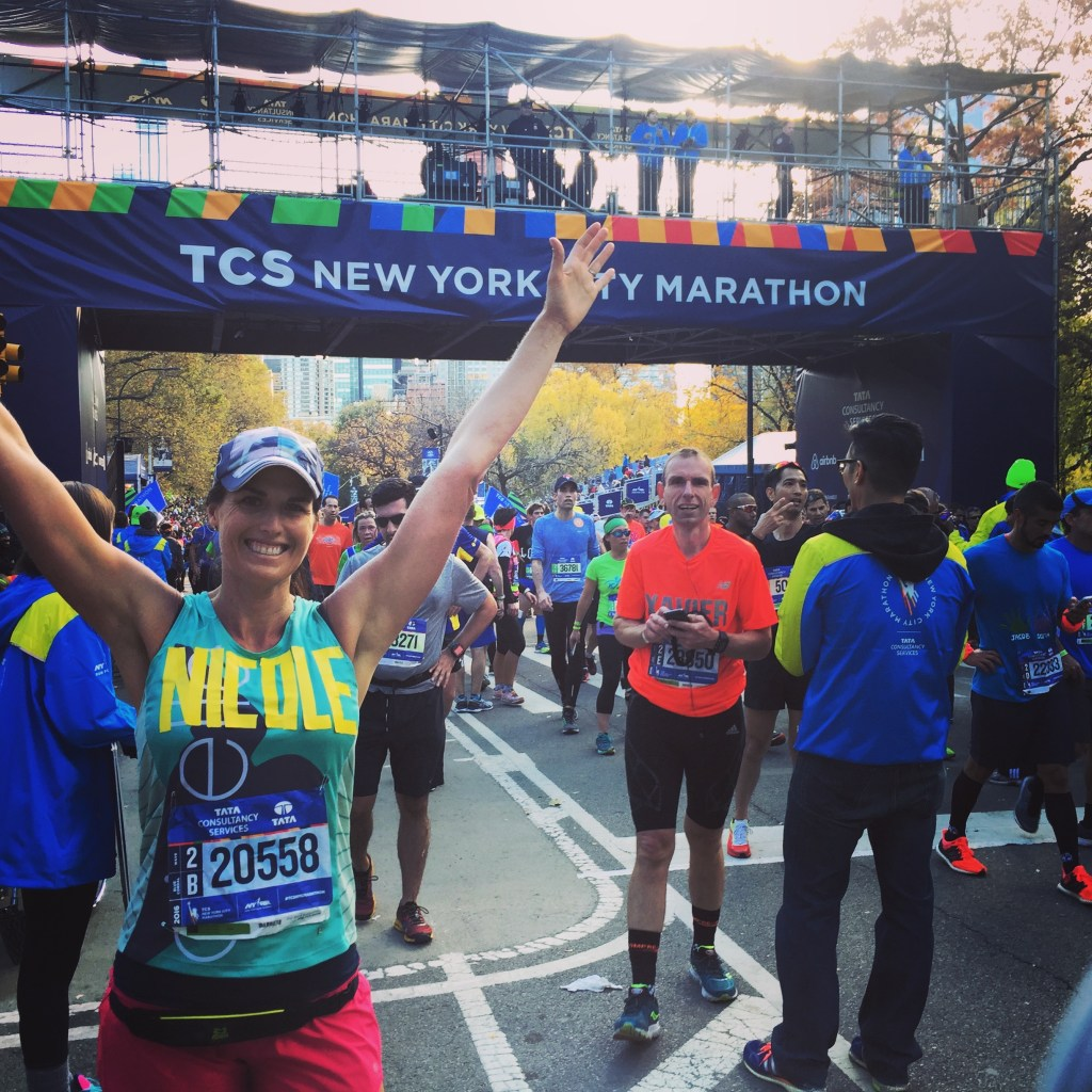 New York Marathon Finisher - my slowest and toughest marathon to date