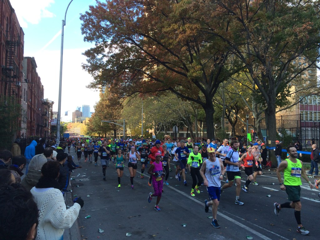 new york city marathon race report