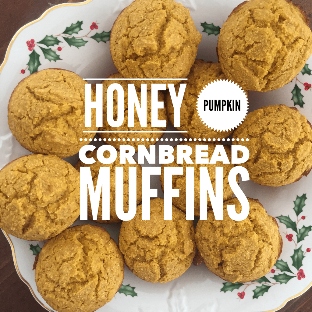 honey cornbread pumpkin muffins recipe