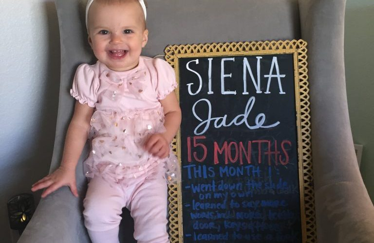 Dear Siena – 15 Months