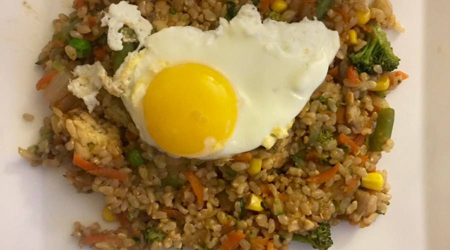 Tasty Tuesday – Veggie & Tempeh Fried Rice