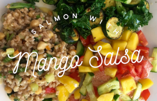Tasty Tuesday – Salmon with Mango Salsa