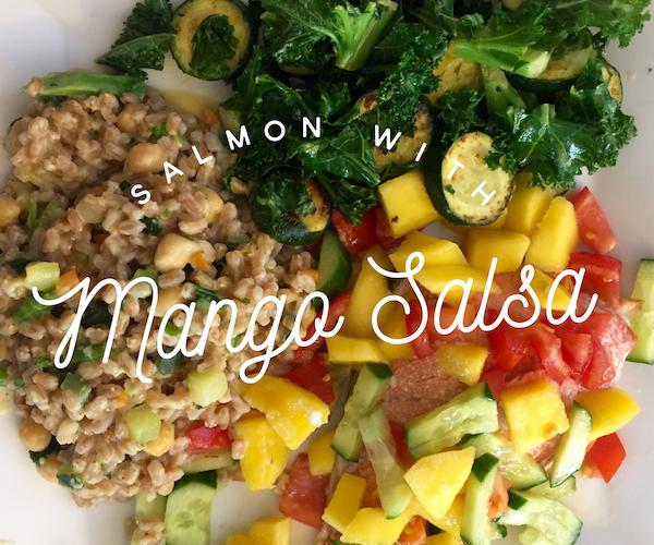 Tasty Tuesday – Salmon with Mango Salsa