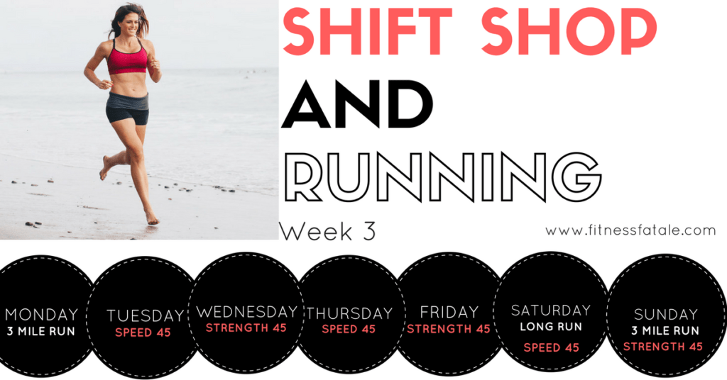 Shift Shop and running