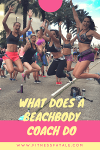what does a beachbody coach do