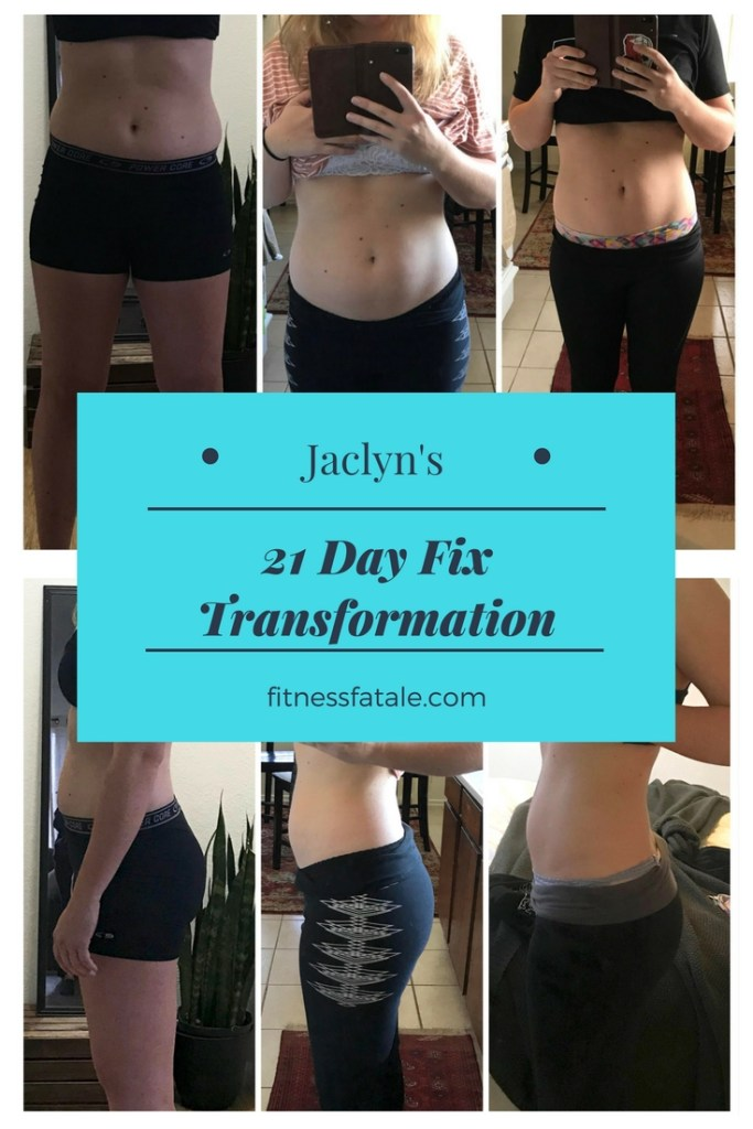 21 day fix before and after 20 something
