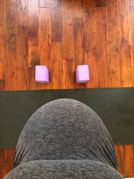 prenatal yoga while pregnant