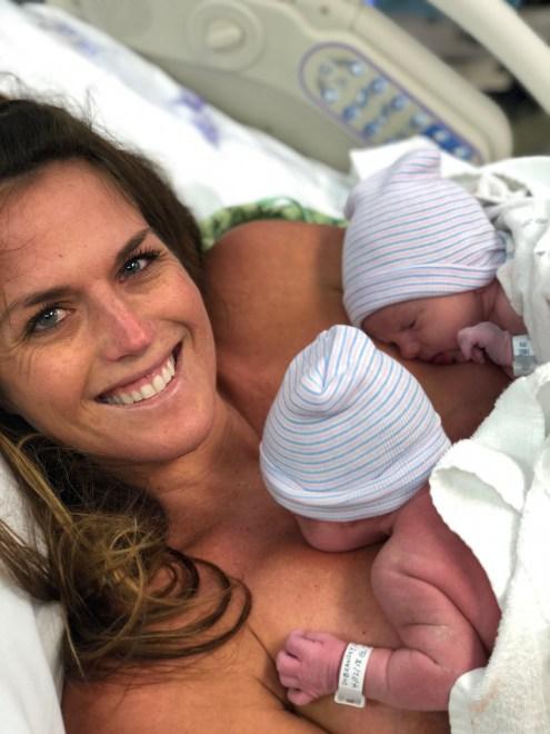 vaginal twin birth story