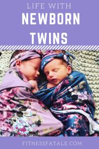 life with newborn twins