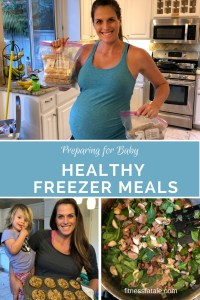 Healthy freezer meals for after baby comes