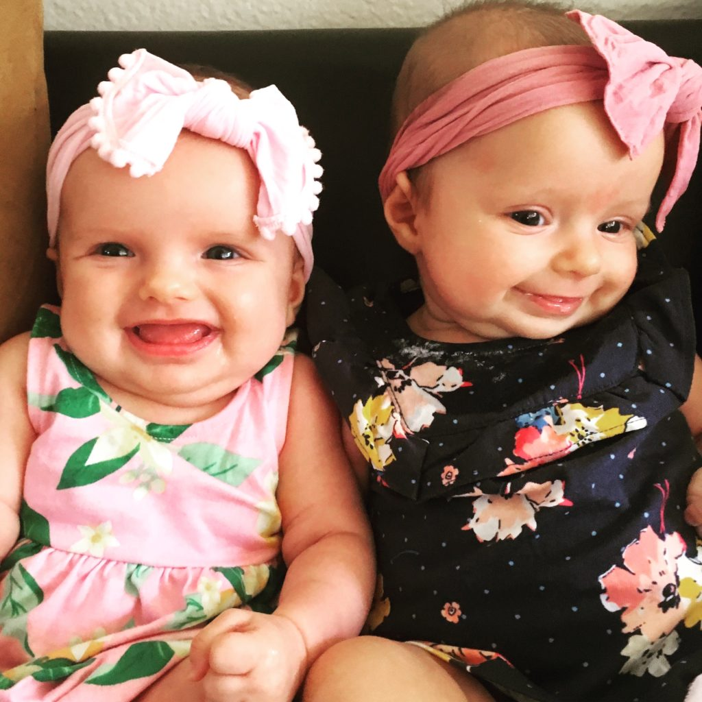 3 month old twins
