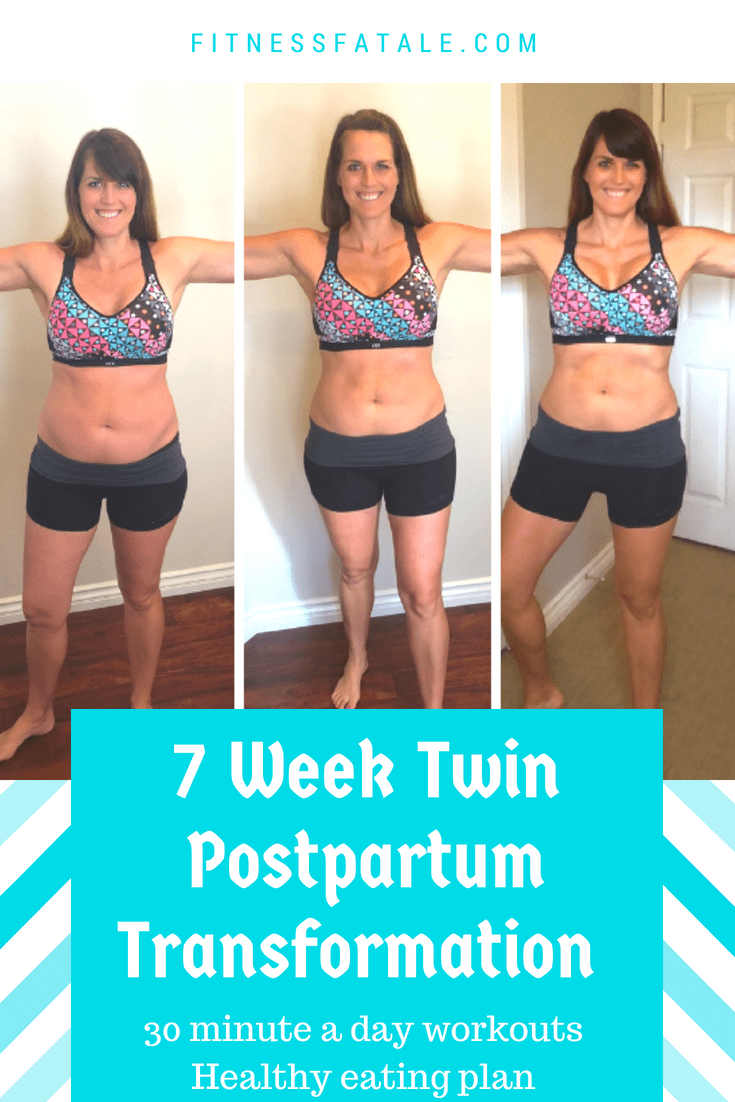 weight loss after twins