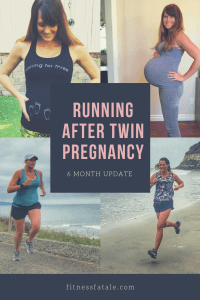 running after having twins