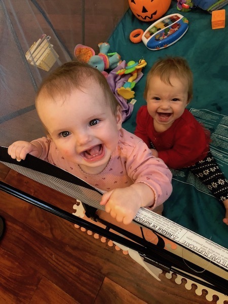 play pen for twins