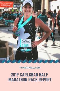 2019 Carlsbad half marathon recap