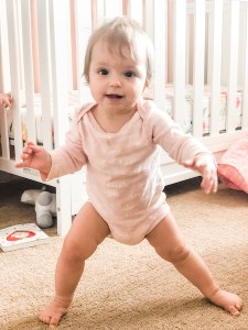 9 month old standing up