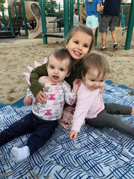 three children 3 and under
