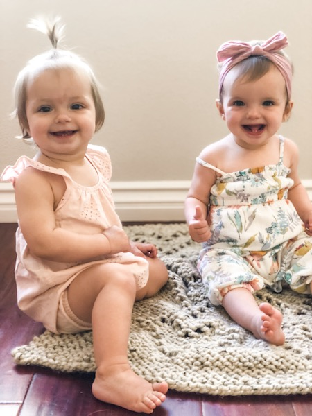 11 month old twins blog