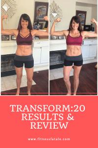 Transform:20 and running
