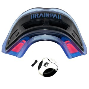 Brain pad mouthguard
