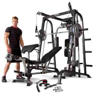 Marcy MD-9010G Home Gym Smith Machine