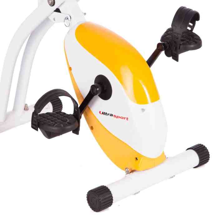 ultrasport foldable exercise bike review