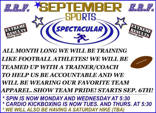 September Sports Spectacular