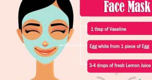 Vaseline and Egg White Face Mask