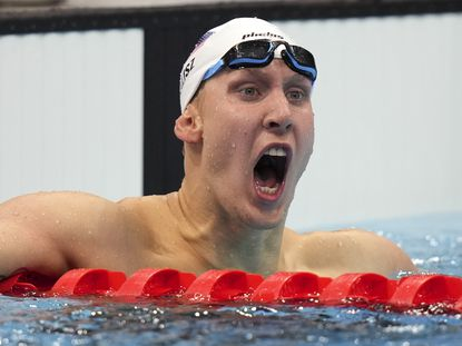 Chase Kalisz wins the first U.S. gold medal in Tokyo