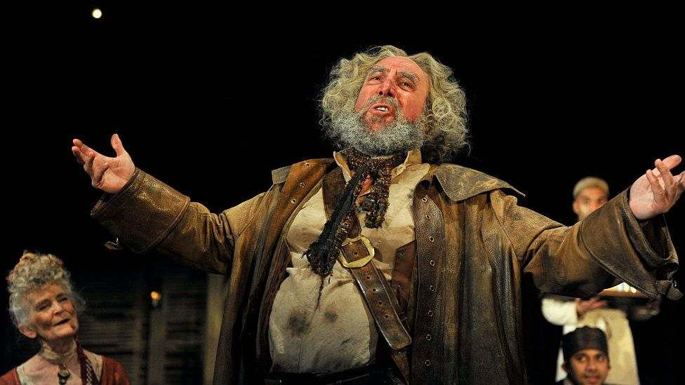 Sir Antony played Falstaff in the RSC's production of Henry IV part I and II in 2014